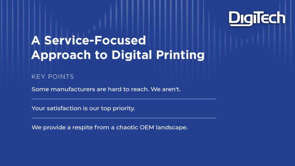 Service-Focused Approach _DigiTech